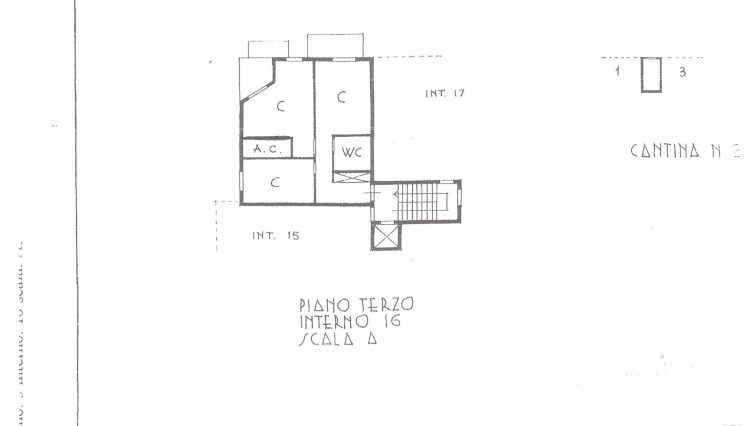 Planimetria Appartamento S.Stefano